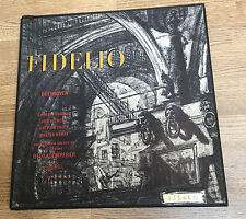 Coffret 3 LP Fidelio Beethoven Klemperer Christa Ludwig Vickers STEREO 1962 EXC*