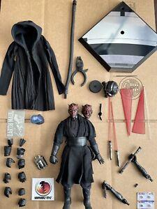 Hot Toys Star Wars Phantom Menace Darth Maul DX16 SE 1/6 NO BOX Please Read 1st