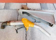 vintage PISTOLET ZVA 25 de pompe STATION gasoil SERVICE tin tank OIL gas nozzle