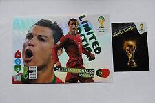 Cristiano Ronaldo XXL Limited Edition Panini Adrenalyn XL World Cup Brasil 2014