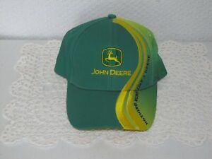 JOHN DEERE NOTHING RUNS LIKE A DEERE GREEN/YELLOW HAT CAP MPC