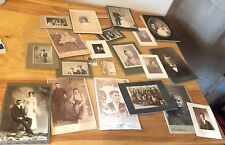 Lot of Vintage Antique Family Black & White Photos Album AS IS