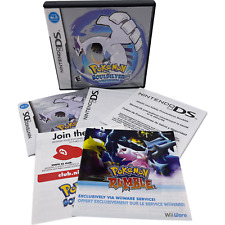 Pokemon Soul Silver Version Nintendo DS Case And Manual Only NO GAME