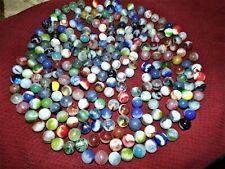 240+ Vintage Antique MARBLES Akro Agate Popeyes Estate coffee jar find MUST SEE