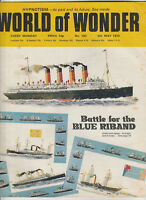 WORLD OF WONDER Magazine Issue 163 - Battle For The Blue Riband (1973)