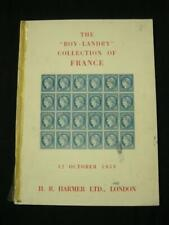 HARMERS AUCTION CATALOGUE 1953 THE 'BOY LANDRY' FRANCE