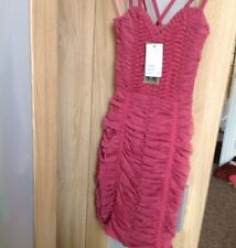 H&M Vestido Rojo, Talla 6