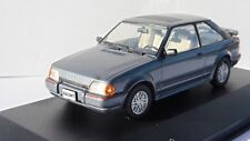 FORD ESCORT MKIV XR3I GREY METAL 1990 WHITEBOX WB096 1/43 GRIS BLEU METALLISE