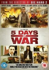 FIVE DAYS OF WAR 5 RUPERT FRIEND ANDY GARCIA VAL KILMER EONE UK DVD NEW & SEALED