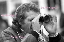 Steve McQueen Le Mans Film Ritratto Fotografia 1971 14