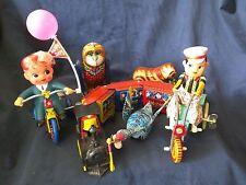 1983 Shackman Tin Wind-Up Toys  Set of 6