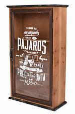 Armario Pared Retro de Baño Casa Campo Hanging Estante Medicinas Antiguo Vitrina