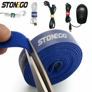 USB Cable Winder Cable Organizer Ties Mouse Wire Earphone Holder HDMI Cord