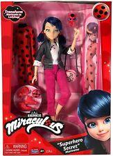 Miraculous Marinette & Ladybug SUPERHERO SECRET Doll Giftset Playmates New 2021