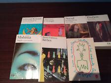 lotto sette libri in lingua francese edizioni Folio