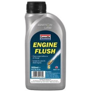 Engine Flush Cleaner Additive Petrol Diesel Remove Flushing Oil Deposit 500ml