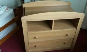 Mothercare Baby Changing Table Chest of Drawers Unit
