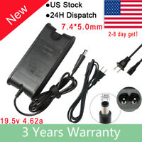 AC Power Adapter for Dell Latitude E6400 E6500 E6510 Charger Power Supply + Cord