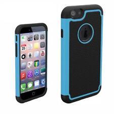 Étuis, housses et coques bleus simples en silicone, caoutchouc, gel pour téléphone mobile et assistant personnel (PDA)