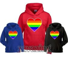 Rainbow Graphic Regular Size Hoodies & Sweats for Women