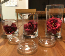 Gold Canyon Glass Candle Holders