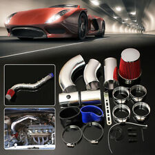 """3"""" 76mm Cold Air Filter Feed Enclosed Induction Intake Pipe Hose Kit Universal"""