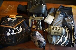 Empire Axe Pro Paintball Gun Package
