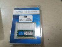 Crucial 8GB DDR3 1600 MHz PC3L-12800 DDR3L Laptop RAM Sodimm Notebook Memory