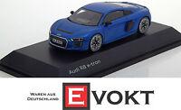 Audi R8 e-tron Magnetic Blue 1:43 5011618431 model car Minimax etron blue