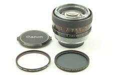 【 Near Mint w/ two Filter 】 Canon FD 55mm f1.2 MF Manual Focus Lens from JAPAN