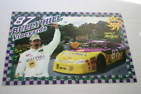RON FELLOWS BULLY HILL THE GLEN NASCAR 2000 POSTER CARD