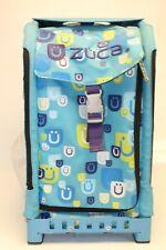 Zuca Be Zappy Aqua Frame 29 L Telescopic Handle Rolling Ice Skating Sport Bag