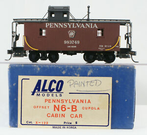 Alco HO Scale Brass PRR N6-B Caboose