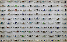Job Lots 50pcs crystal Rhinestone colorful Lady's rings
