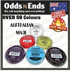 SHOE POLISH WAPROO RENOVATING  45G  - Over 50 colours Available- Australian Made