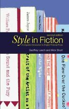 Style in Fiction : A Linguistic Introduction to English Fictional Prose by Mick…