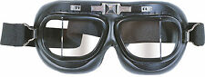 NEW ROYAL AIR FORCE RAF PILOTS FLYERS BLACK GOGGLES