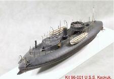 Large - Keokuk Civil War Union Ironclad Model Kit  1/96