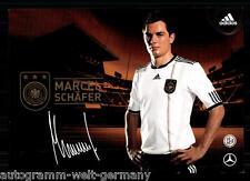 Marcel Schäfer DFB Autogrammkarte WM 2010+  75771 + A 68388