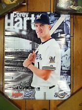 Corey Hart Milwaukee Brewers Poster Sentry Deans