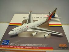 """Aviation 400 Asiana Airlines OZ B747-400 """"2006s color"""" 1:400"""