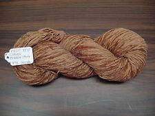 Cotton Chenille Yarn 1450 YPP 1 Skein 4 oz.Color Terracotta