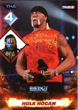 TNA Hulk Hogan #105 2013 Impact Wrestling LIVE GOLD Short Print Card SN 31 of 50