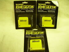 "BUCHANAN KWIK-GLYDE WIRE PULLING TOOL KLB050B  1/2"" TOOL  NEW IN PACKAGE  3pcs"