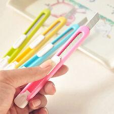 1Pcs student Retractable Pencil sharpener Cutter Utility Knife Razor Blade Tool