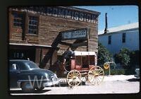1960s  35mm amateur Kodachrome Photo slide Western Tourist Spot Car Automobile