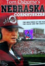 Tom Osbornes Nebraska Cornhuskers New DVD,1973-97 College Football, Coach legend
