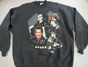 Vintage Wayne Newton Sweatshirt Men's Size 2XL Jerzees Cotton Super Sweats XXL