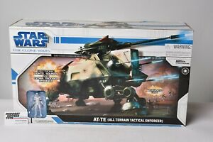 Star Wars The Clone Wars AT-TE All Terrain Tactical Vehicle NEW SEALED IN BOX