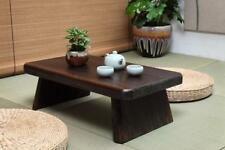 Japanese Antique Tea Table Rectangle 60*35cm Wood Traditional Asian Furniture